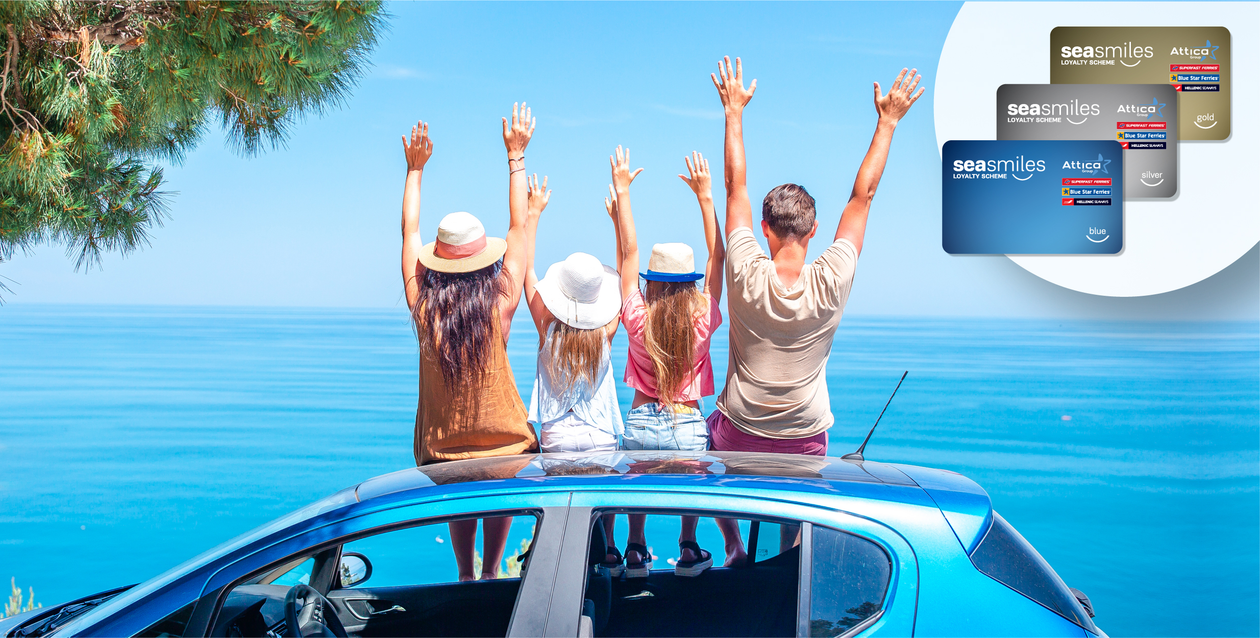 40% discount on cars for Seasmiles Members!